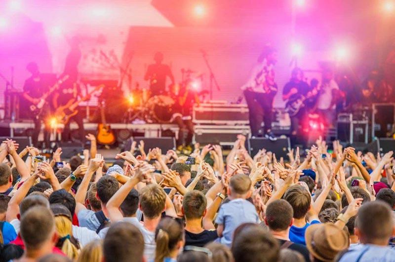 Band at Glastonbury Festival