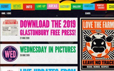 Glastonbury Useful Links