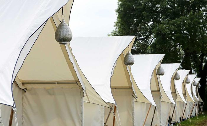Glamping tents for festivals and parties