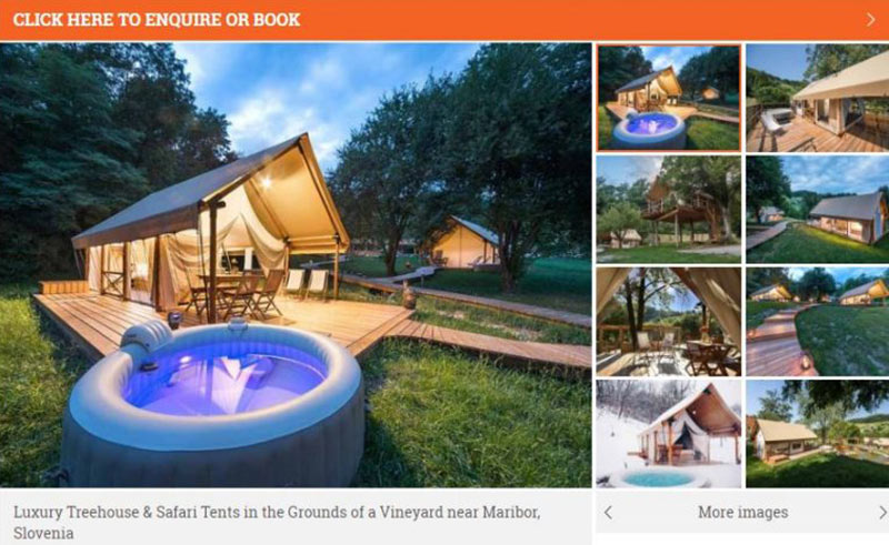 How to find the best glamping sites online