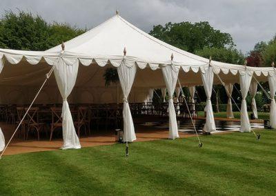 Pavilion-tent