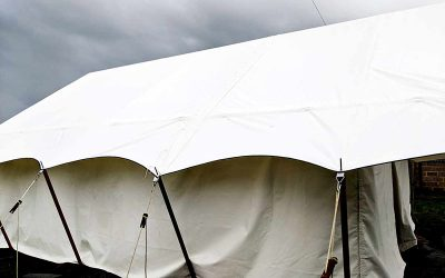 Video of our new Safari tent