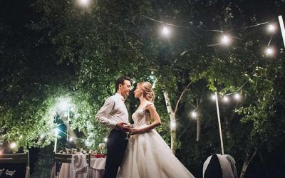 How to Glamp up your Wedding
