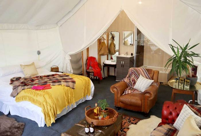 best festival glamping accommodation company