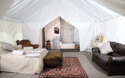 Internal Video of Safari Tent