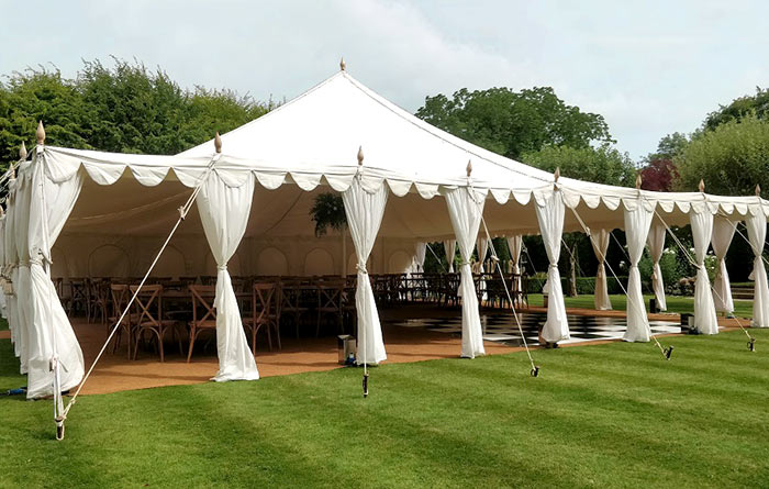 hire wedding party marquee