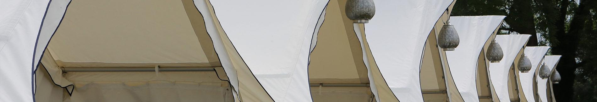 luxury glamping accommodation