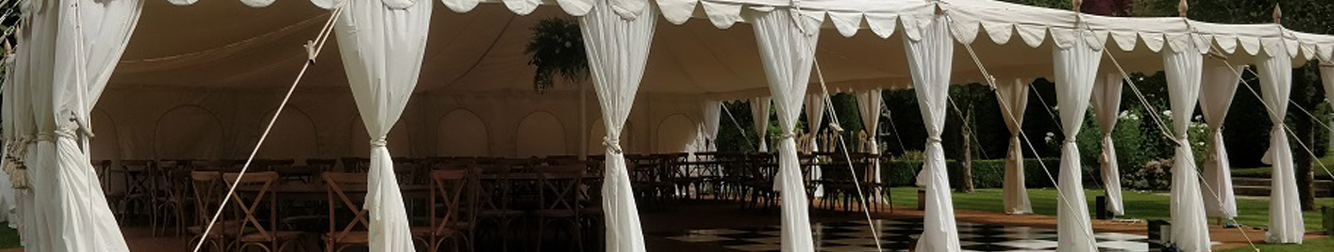 luxury marquee hire for wedding  events