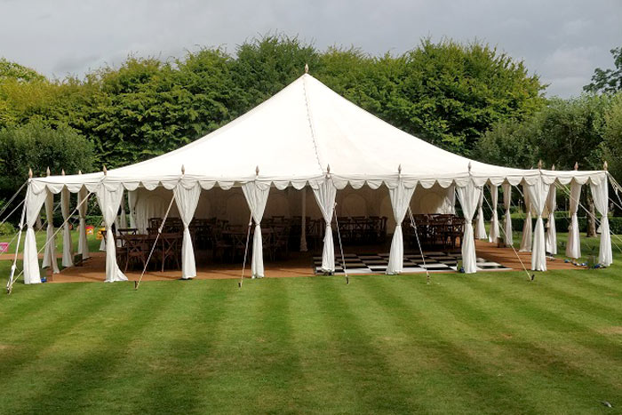 hire luxury pavilion tent marquee