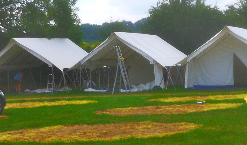tents for glamping